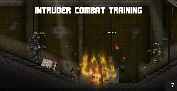 Intruder Combat Training