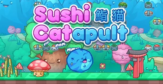 Sushi Cat-a-pult - Play on Armor Games