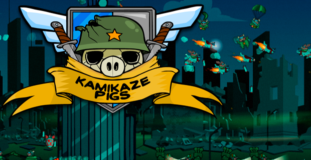 Kamikaze Pigs - Play on Armor Games